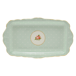 SANDWICH TRAY POLKA ROSE
